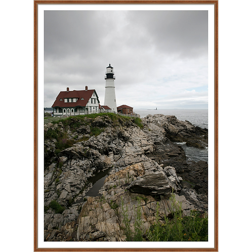 Rocky Shore and Lighthouse II