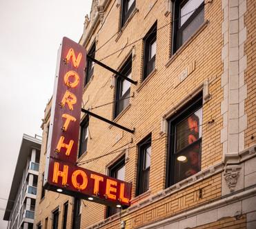 NORTH HOTEL EXTERIOR