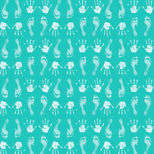 Hands & Feet — Turquoise