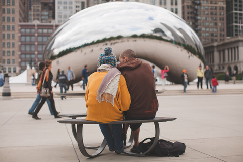 CLOUD GATE COUPLE
