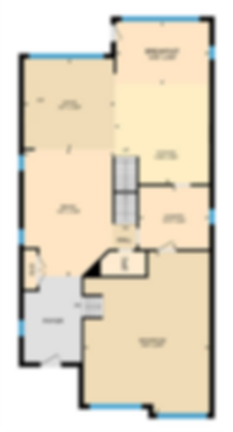 standard view of an iGUIDE floor plan