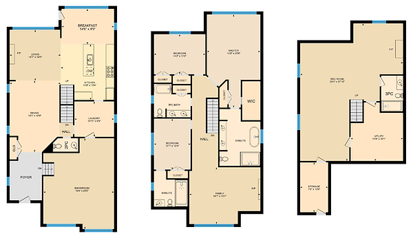 Multicolored Floorplans
