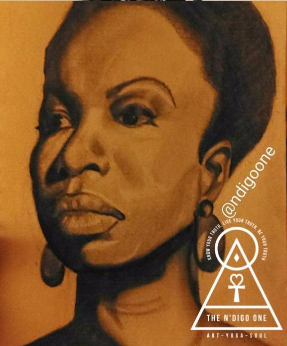 Nina Simone (SOLD)