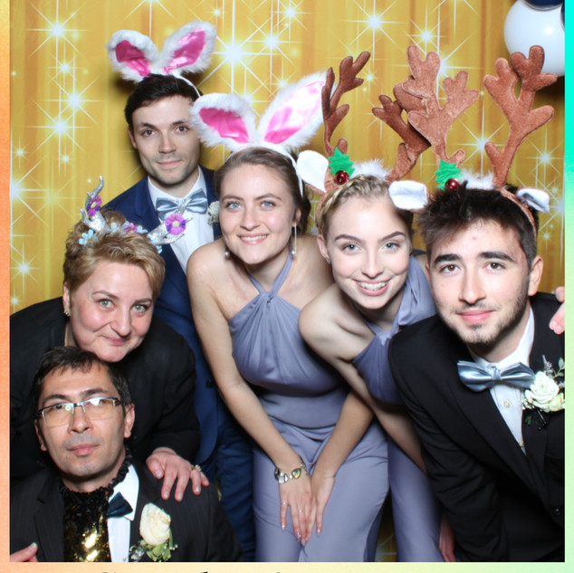Photo Booth Background and Props