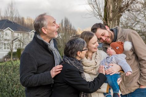 Family Outdoor Portrait