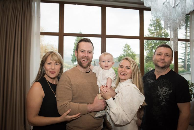 Family Home Portrait