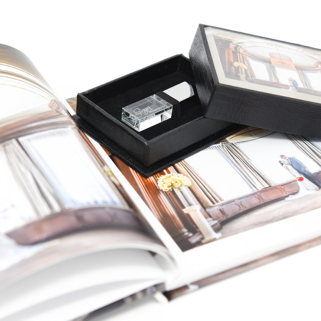 Classic Photo Book and a Personalized USB