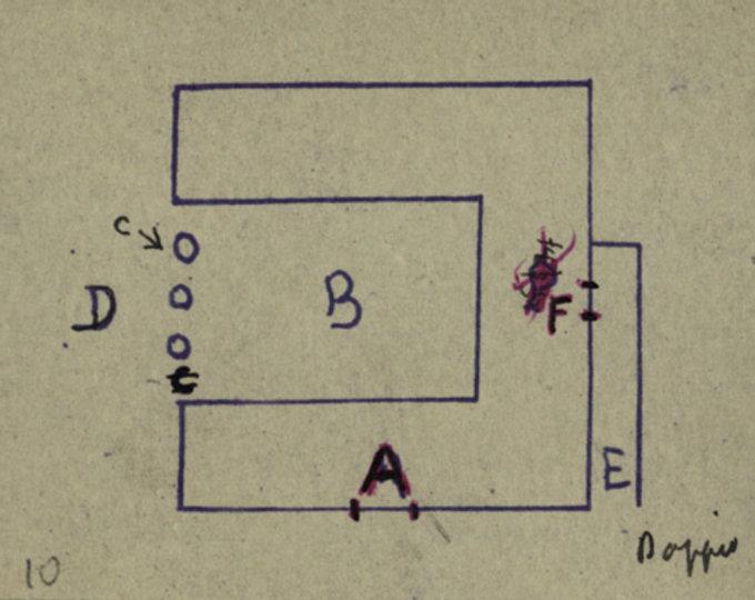 schema di casa prodotta da un nevrotico