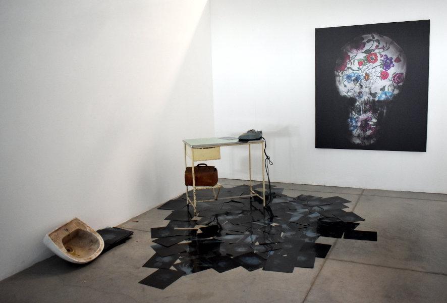 The mentalist room, 2020 installazione c