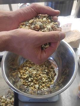 Nussmüsli, 16 Freunde Müsli, Müsliherstellung