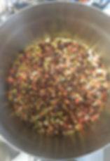 Früchtemüsli, Gojibeeren, Rosinen