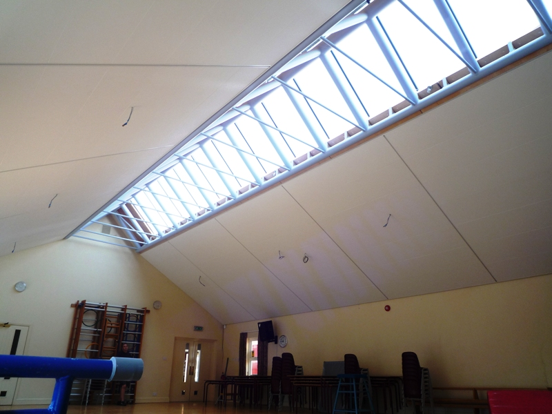 Ecophon Super G Wall Panel C Thaxted School Hall