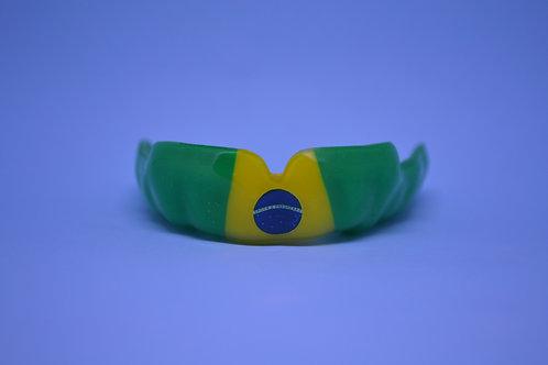 MaxxGard Combat - désign pré-établi - drapeau de Brésil - sur le vert/jaune/vert