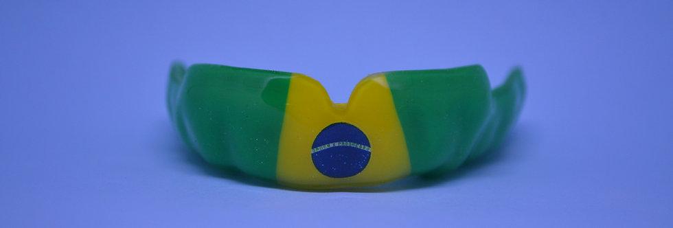 MaxxGard Flex- désign pré-établi - drapeau de Brésil - sur le vert/jaune/vert