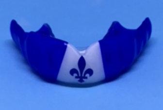 MaxxGard Combat -désign pré-établi - fleur-de-lys - sur le bleu/blanc/bleu