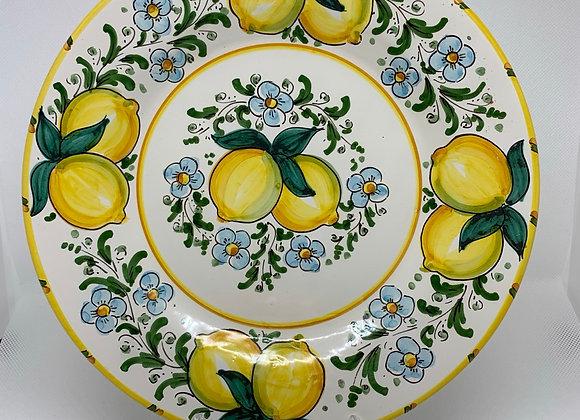 Plato llano limón