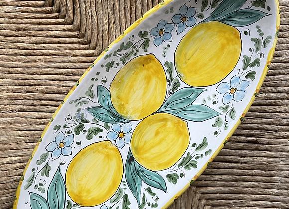 Frutero canoa limones sicilianos