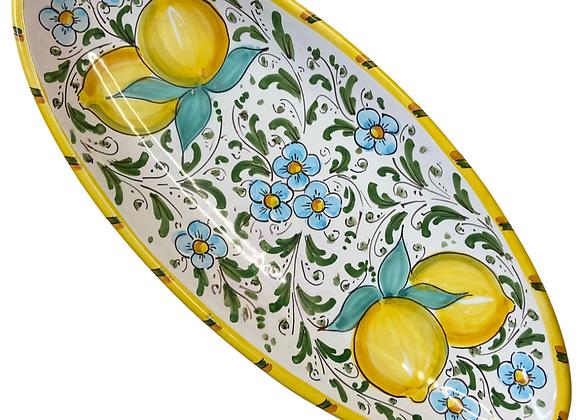 Bandeja cerámica limones