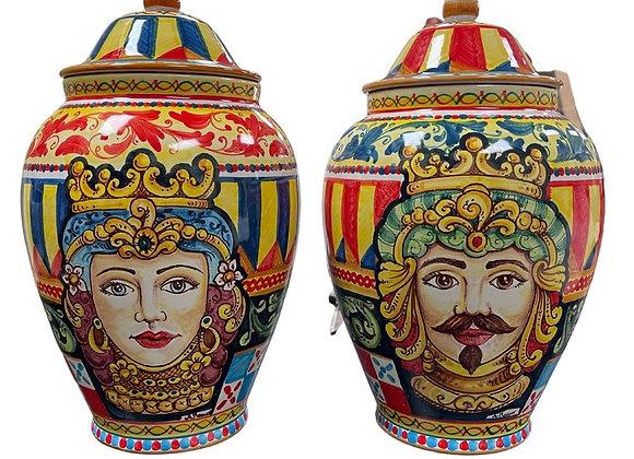 Teste di moro Vases