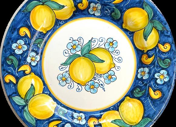 Plato llano limone