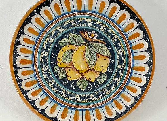 Plato limones sicilianos