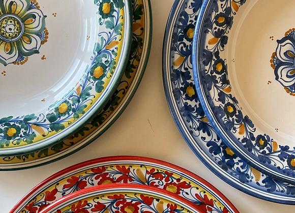 Set platos hondo y llano