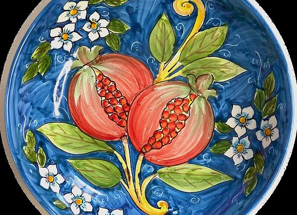 Plato de pasta de cerámica