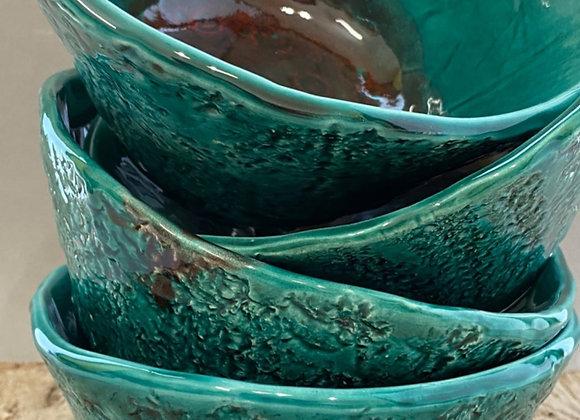 Bowl cerámica turquesa