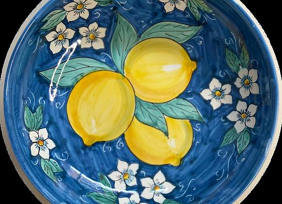 Plato pasta limone