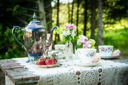 wedding outdoor tea party