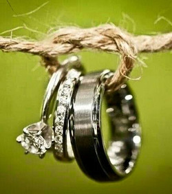 Wedding Country Ring Carrier