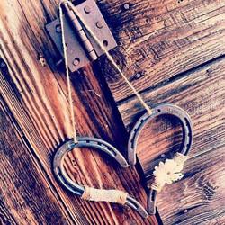 Country Horseshoe Heart