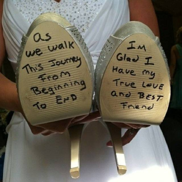 Wedding shoe message.jpg