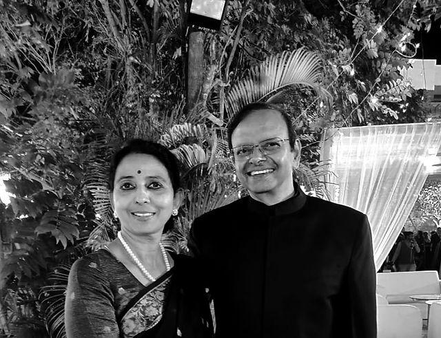Dr Uma Ganesh and Dr Ganesh Natarajan