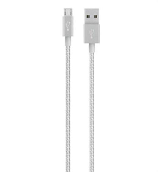 Belkin Mixit_È Metallic Micro-Usb To Usb Cable Silver
