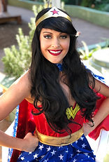 Wonder Woman, Kids Party, Superhero Party, Birthday Party Entertainment, Face Painter, Face Painting, Balloon Twister, Balloon Twisting
