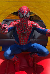 Spider Man Kids Party, Superhero Party, Birthday Party Entertainment, Face Painter, Face Painting, Balloon Twister, Balloon Twisting