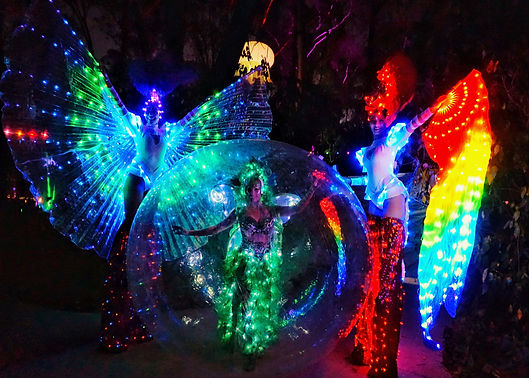 LED Stilt Walkers and Zorb (1).jpg