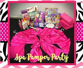 Kids Spa Pamper Party