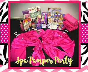 Kids Spa Pamper Party