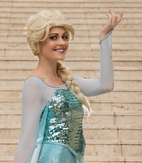 Snow Queen, Elsa, Frozen, Kids Party, Face Painter, Balloon Twister