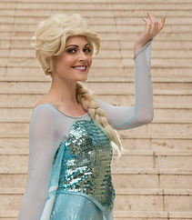 Snow Queen, Elsa, Frozen, Kids Party, Face Painter, Balloon Twister
