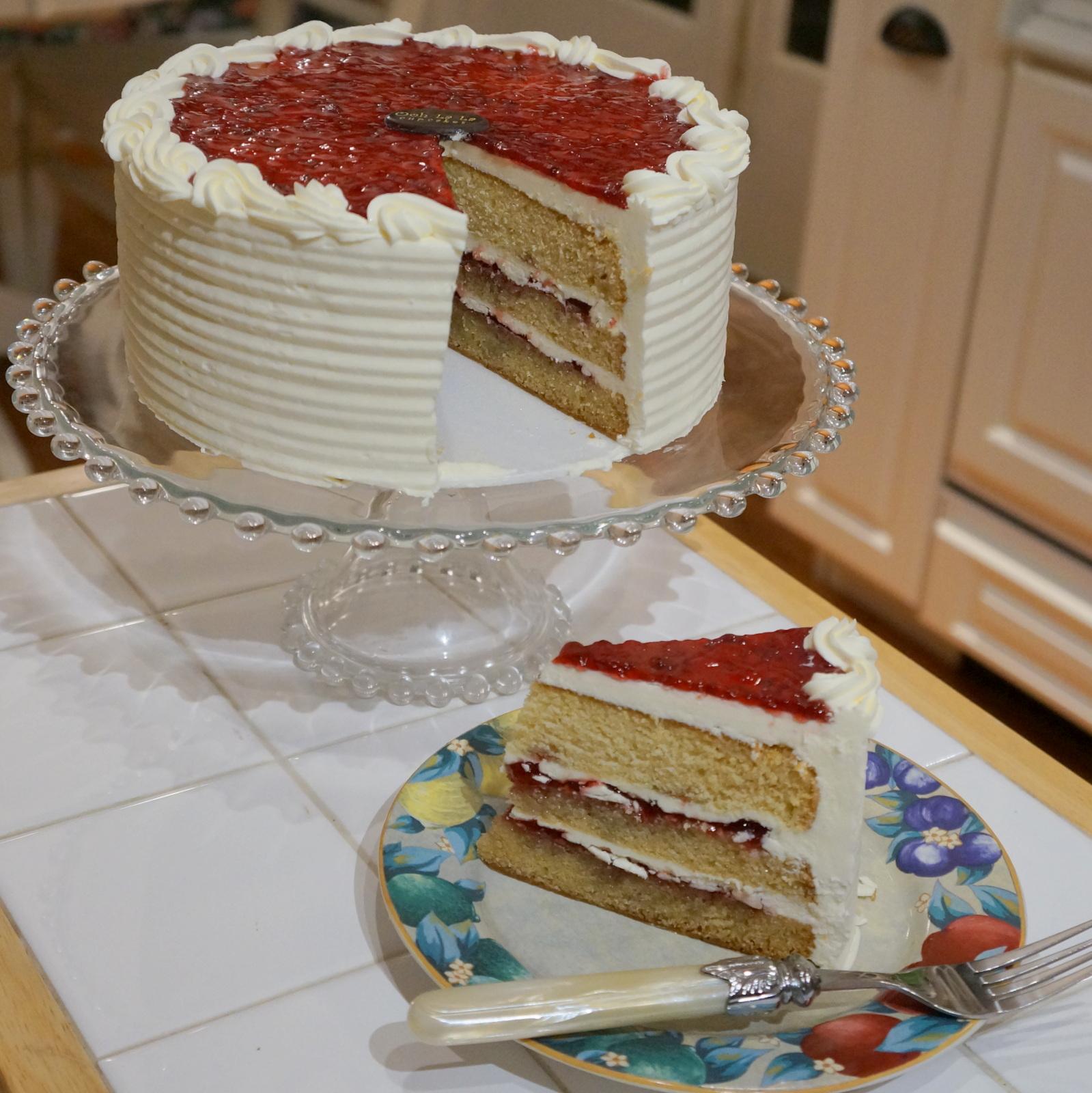 Victorian Vanilla Cake