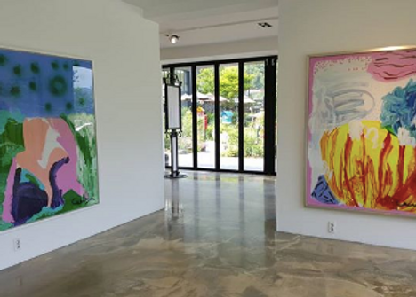 Installation view at CAIS Gallery in Seo