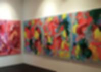 Installation view 'Inner Chandelier', CA