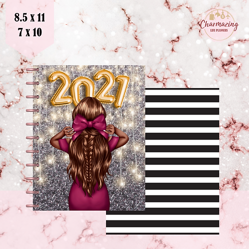 """Sparkling New Year"" Planner Cover Set"
