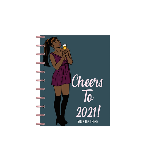 """Cheers To 2021!"" Charmazing Planner"
