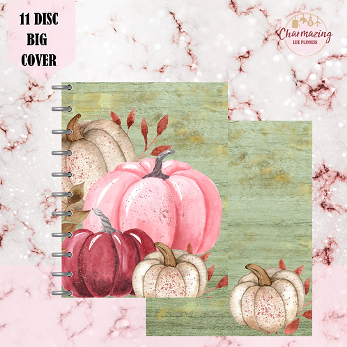 Autumn Pumpkins Planner Cover Set