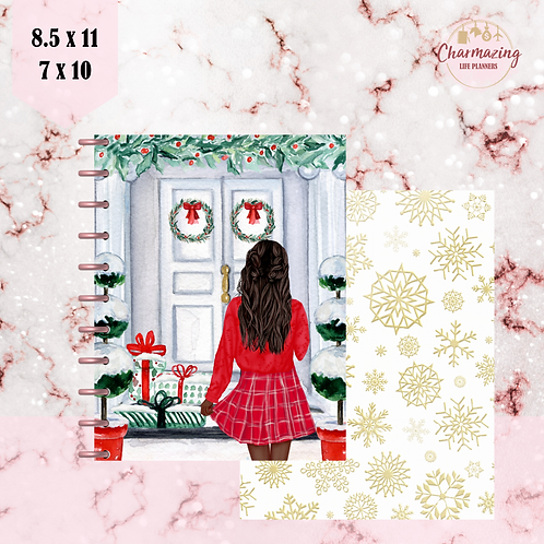 """Home For Christmas"" Planner Cover Set"