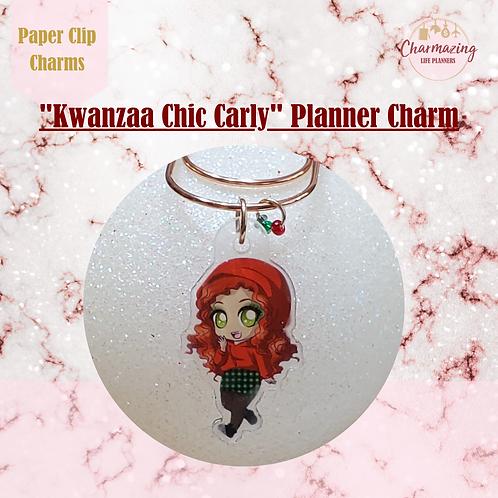 """Kwanzaa Chic Carly"" Planner Charm"